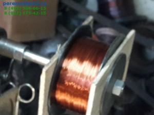 Намотка провода на катушку