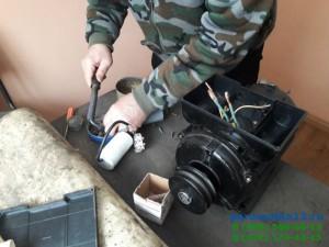 Подключение конденсатора к катушкам электродвигателя